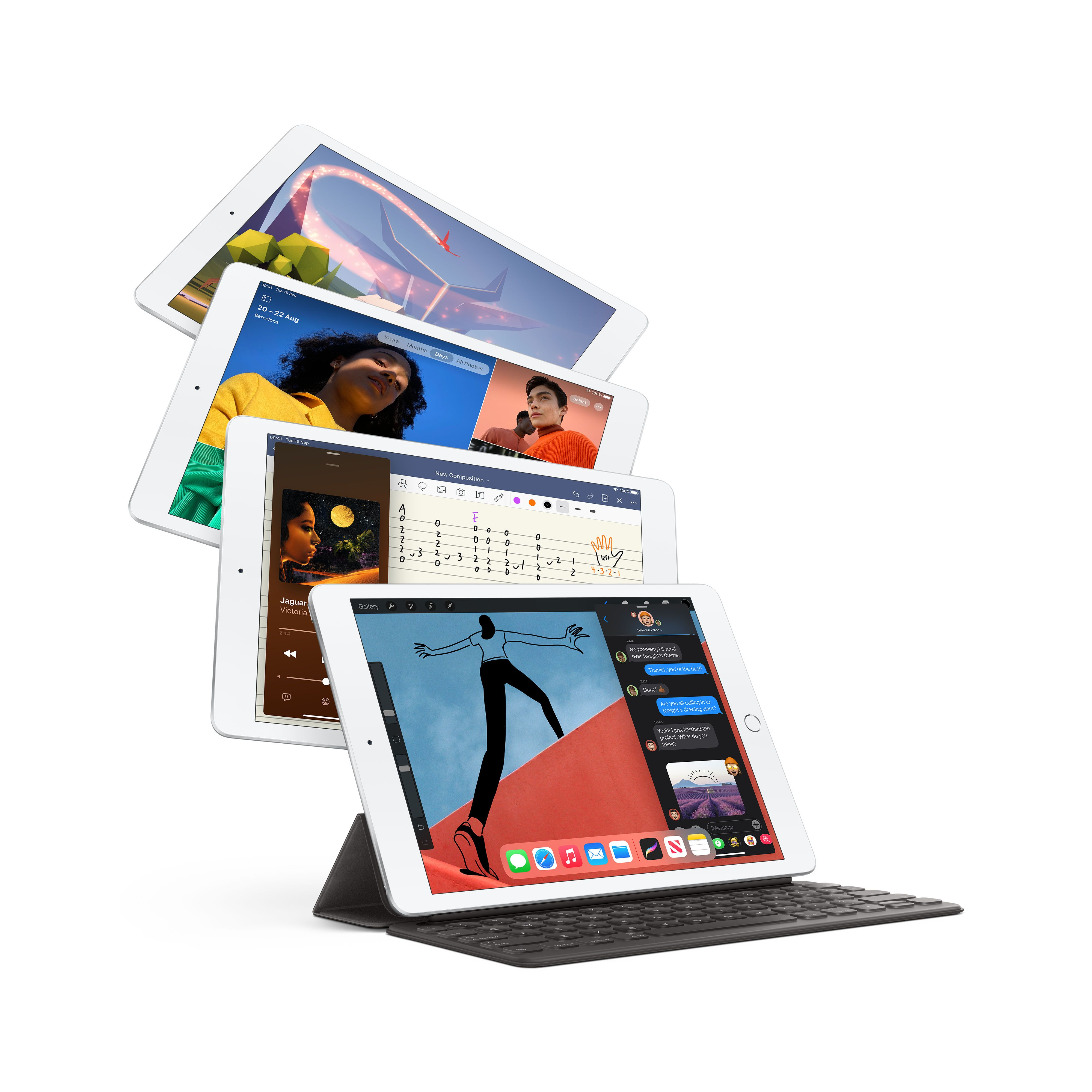 Set of iPad devices for Education